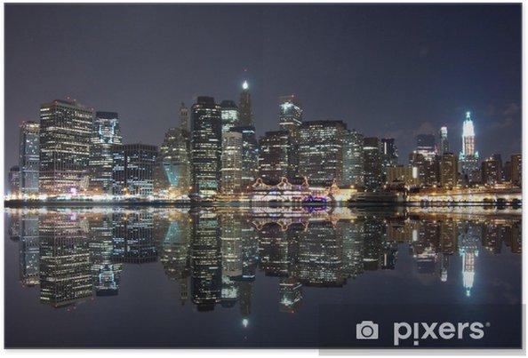 Poster New York la nuit - Thèmes