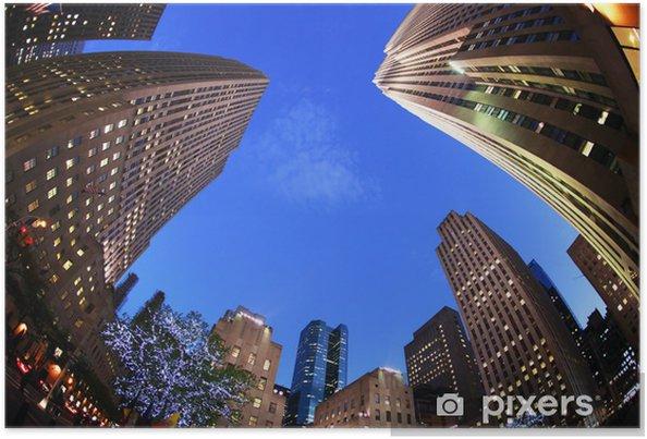 New York Rockefeller Center Poster Pixers We Live To Change