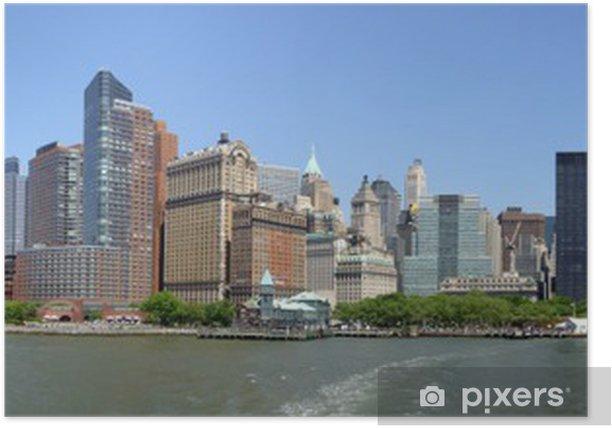 New York Skyline Poster - Themes