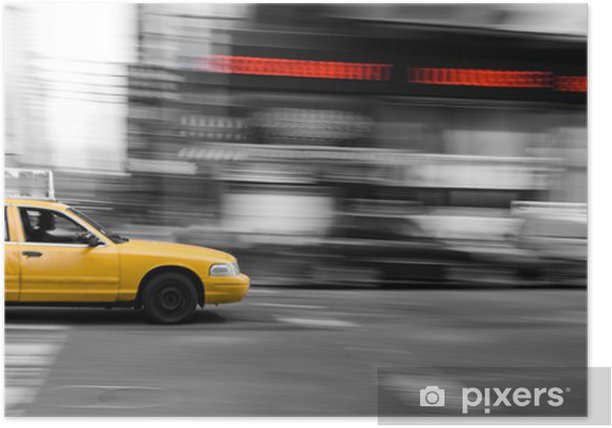 Poster New York Taxi.New York Taxi Cab Poster Pixers We Live To Change