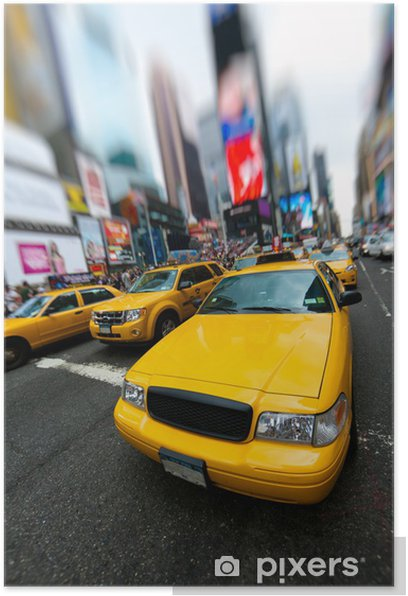 Poster New York Taxi.New York Taxi Poster Pixers We Live To Change