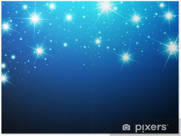 Poster Night Star Contexte - Thèmes