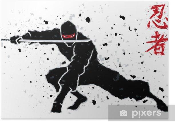 Ninja Poster - Karate