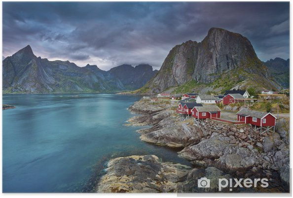 Poster Norway - Thema's