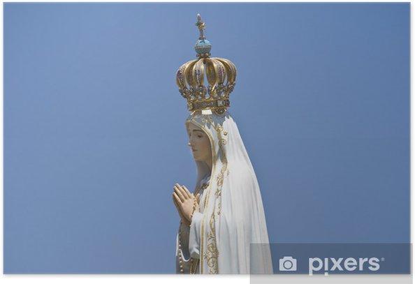 Poster Notre-Dame de Fatima - Religion