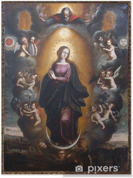 Poster Notre-Dame-Immaculée 1 - Culture et religion