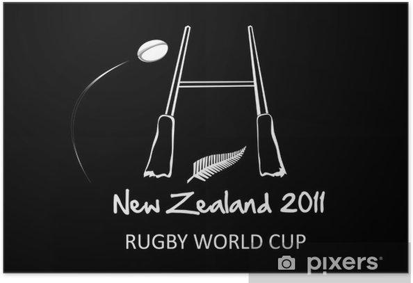 Poster Nouvelle-Zélande 2011 - Sports collectifs