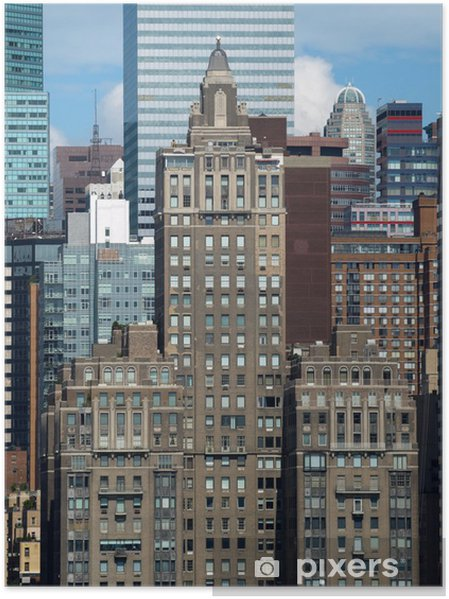 Poster NYC Stacking-3 - Villes américaines