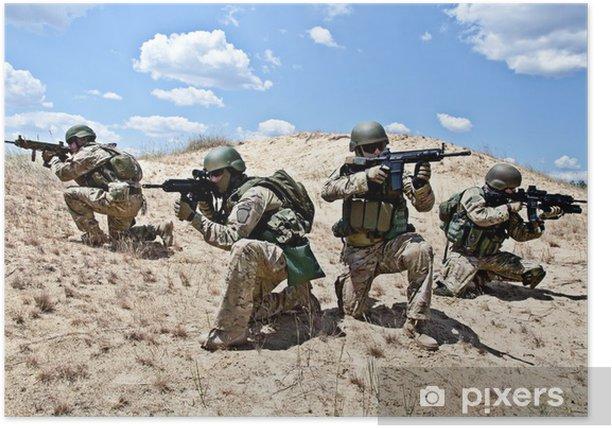 Póster Operación militar - Militar