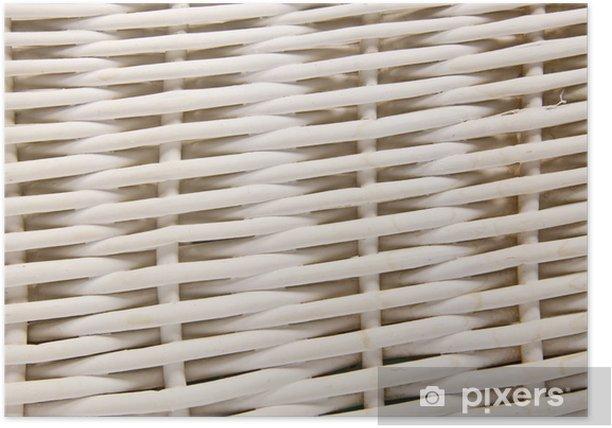 Poster Osier blanc - Industrie lourde