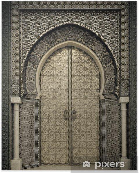 Poster Oude deuren, Marokko - Thema's