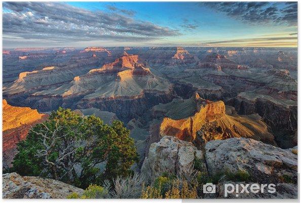 Poster Övergripande bild av Grand Canyon - Amerika