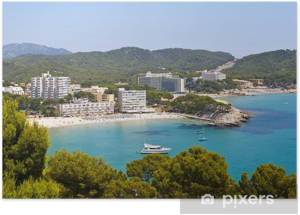 Paguera Beach Mallorca Poster Pixers We Live To Change