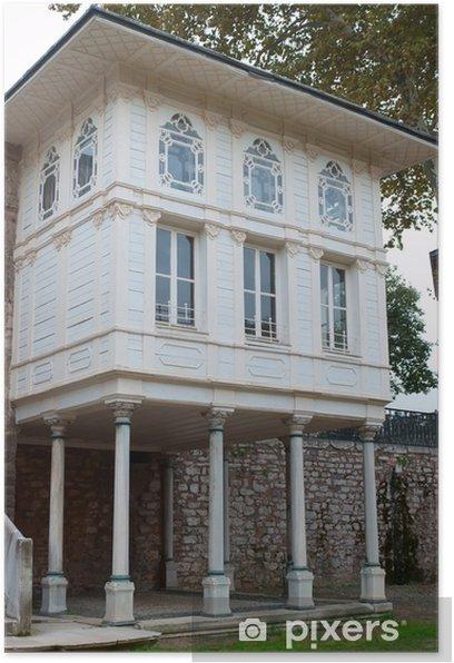 Póster Palacio de Topkapi en Estambul, Turquía - Europa