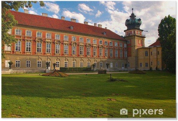 Póster Palacio en Łańcut, Polonia - Europa