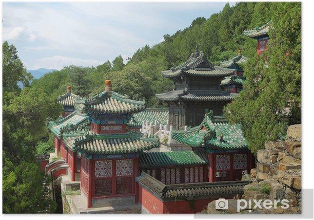 Poster Palais d'Eté à Beijing - Monuments