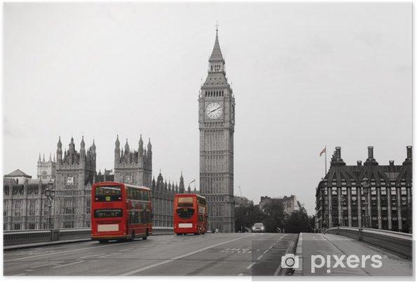 Poster Palais de Westminster -