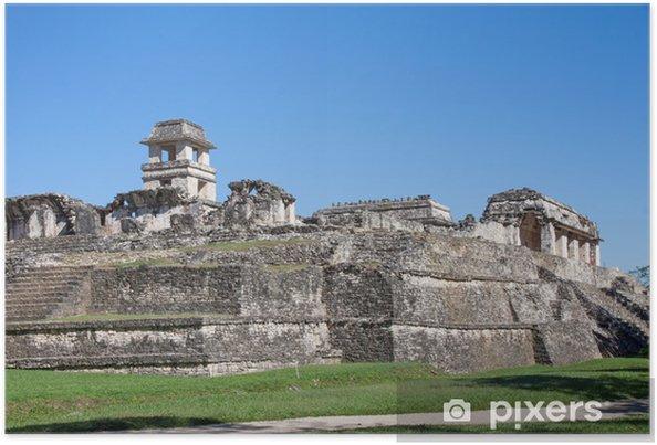 Poster Palenque, Mexique - Amérique