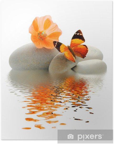 Poster Palette Papillon -