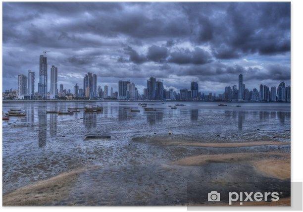 Poster Panama City - Amérique