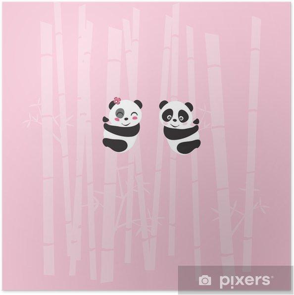 Poster Panda - Fêtes internationales
