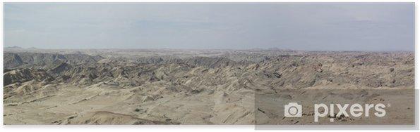 Póster Panorama Mondlandschaft - África