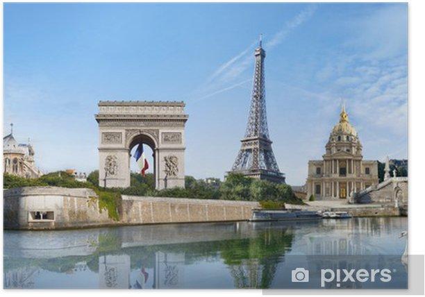 Poster Panorama Paris France - Thèmes