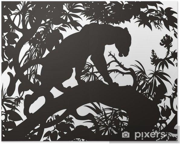 Poster Panthère - Mammifères