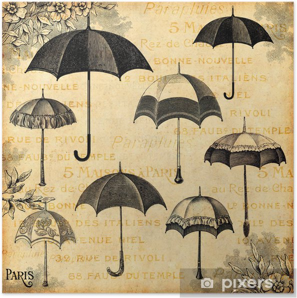 Poster Parasols - Mode