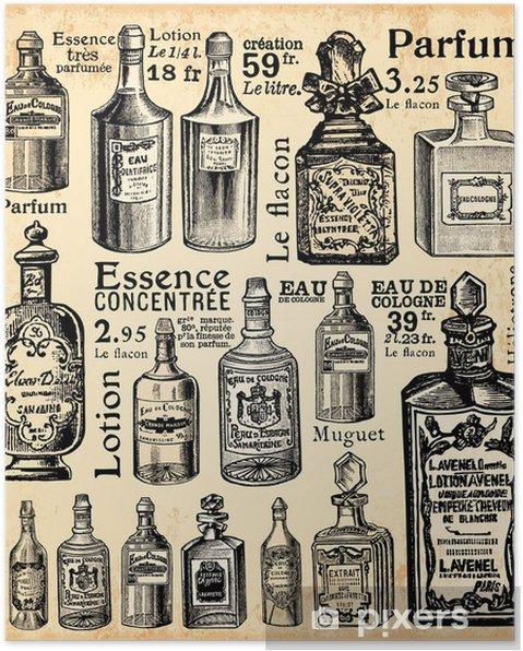 Poster Parfumerie - Vintage