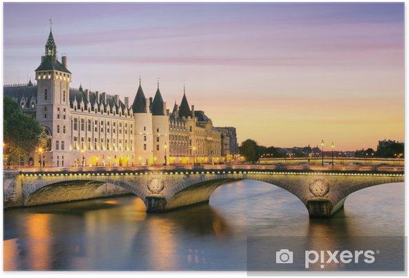 Poster Paris, Conciergerie -