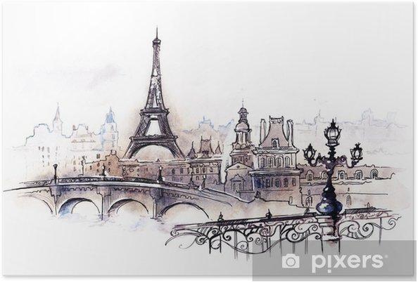 Poster Paris (série C) - Styles