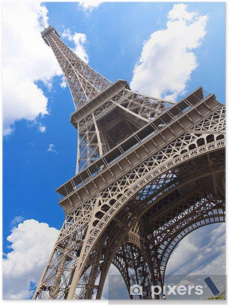 Póster París - Ciudades europeas
