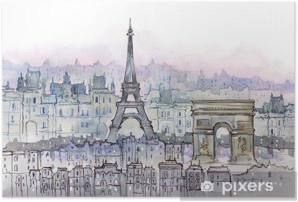 Poster Parisiens - Styles