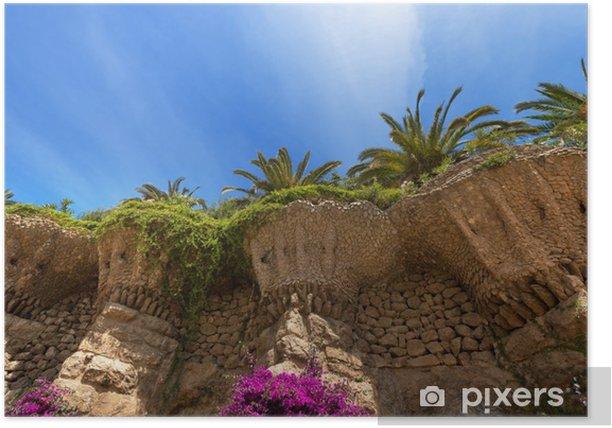 Park Guell - Barcelona Spain Poster - European Cities