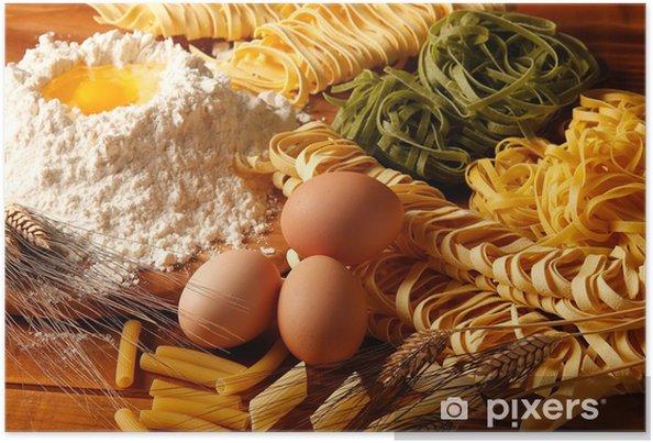 Poster Pasta e paglia fieno - Repas
