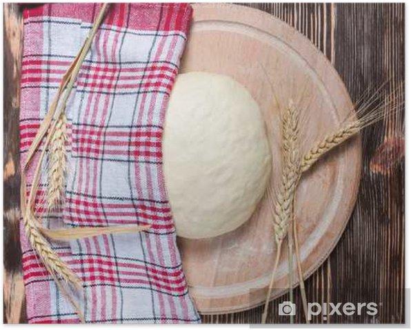 Poster Pâte - Nourriture