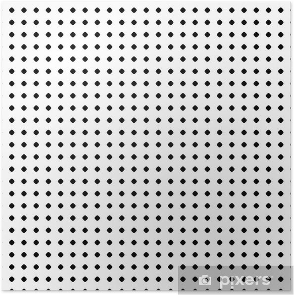 04baace18dd9d Póster Patrón de lunares. vector de textura sin fisuras. telón de fondo  geométrico abstracto en blanco y negro con pequeños círculos y manchas