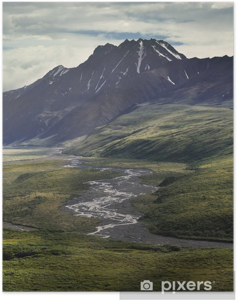 Poster Paysage montagne - Montagne