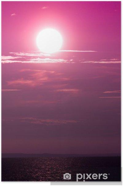 Poster Paysage Sun Sea - Saisons