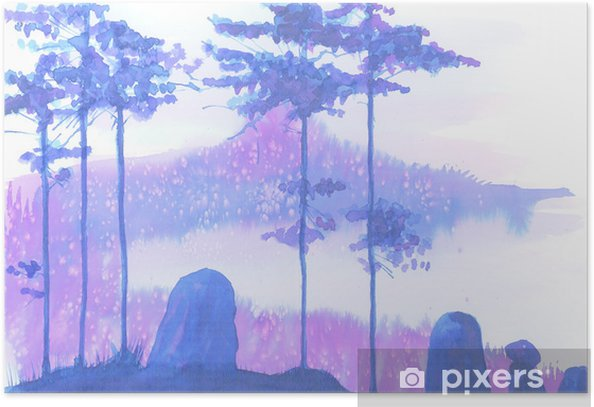 Poster Paysage - Plantes