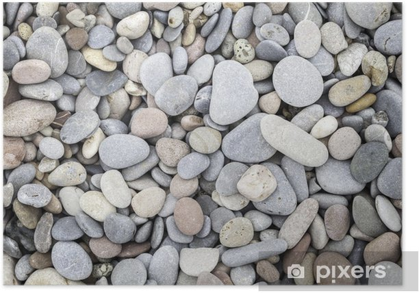 pebbled texture Poster - Themes