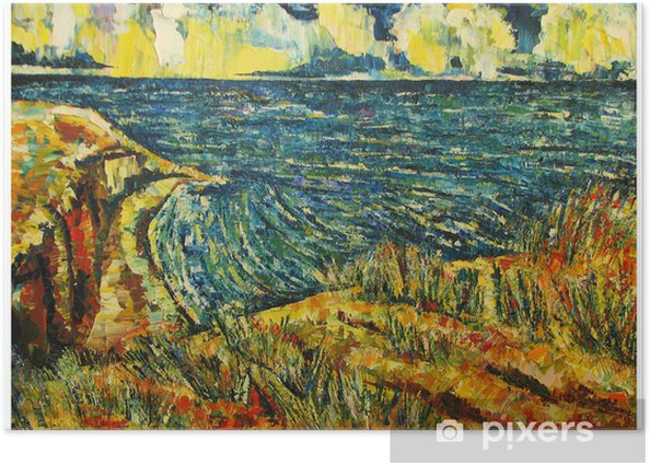 Poster Peinture - Art et création