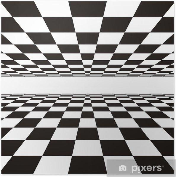 Poster Perspective linéaire • Pixers® - Nous vivons pour changer