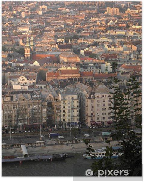 Poster Pest de la ville - Europe