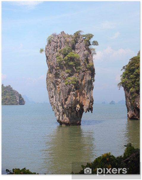 Phang Nga Bay James Bond Island Thailand Poster