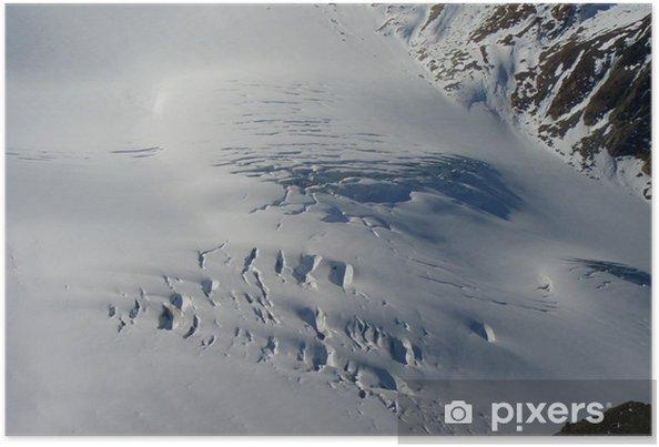 Poster Piztaler Gletscher - Europe