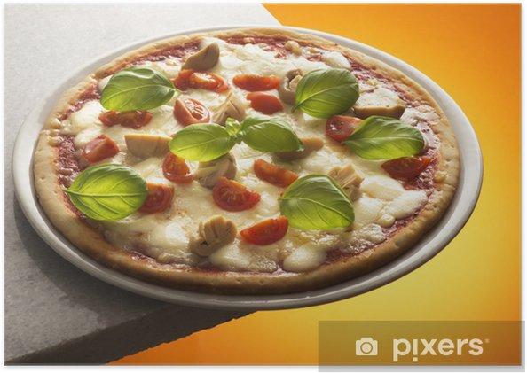 Poster Pizza aux champignons - Thèmes