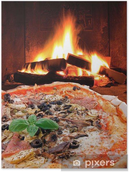Poster Pizza Capricciosa ... Tradizione Italiana - Thèmes