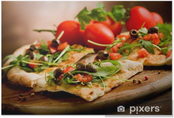 Poster Pizza Vegetariana - Thèmes